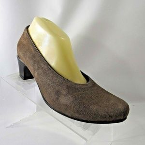 Wolky Size 10 Brown Heels Pumps Shoes For Women